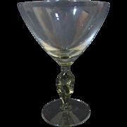Morgantown Jockey cocktail glass