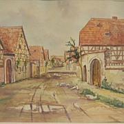 SALE Groppe . Watercolor  '45.