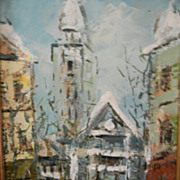 Barton . Impressionistic Oil Painting