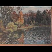D Squier . Oil Painting Landscape