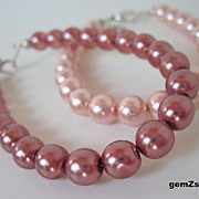Fun And Feminine Set Of Two Stackable Bracelets