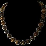 Natural Jupiter Jasper Single Strand Necklace