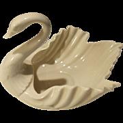 Vintage Lenox Porcelain Swan Cream