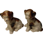Vintage Pair of Twin Sealyham Terrier Puppy Dogs - Brazil