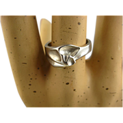 REDUCED Lapponia Finland Silver Vintage Ring ~ Bjorn Weckstrom