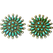 REDUCED Zuni Needle Point Earrings