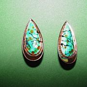 """Renoir """"Matisse"""" Copper Earrings"""