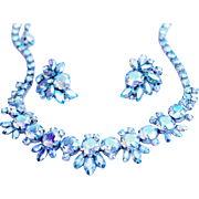 SALE Brilliant Gustave Sherman Rhinestone Parure - TO DIE FOR!!