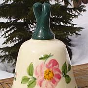 Franciscan Desert Rose Bell Danbury Mint