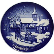 1992 Bing & Grondahl Christmas Plate B&G The Pastor's Christmas