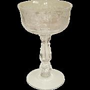 SOLD Fostoria Willowmere 10 Champagne Stems Tall Sherbets