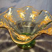 Moser 19th Century Flared Vase