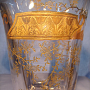 Duncan Vase with Gold Deco Band