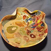 Murano Clam Shell Murrine Bowl