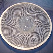 """17"""" Filagrana Art Glass Center Bowl"""