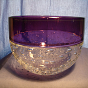Art Glass Bowl by Mark Wilson