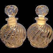 Pr Czech Perfume/Cologne Bottles