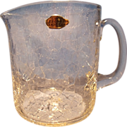 Blenko #745 Crackle Tankard