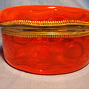 Round Murano Glass Box