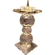 Retired Swarovski Pin Candleholder