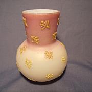 Coralene Bud Vase circa 1890's