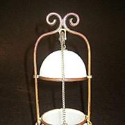SOLD Palais Royal opaline egg casket