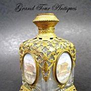 SOLD Palais Royal Perfume Bottle with 5 Miniatures of Paris
