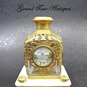 SOLD Super Palais Royal Perfume Bottle on Marble Stand