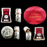 SOLD Rare Palais Royal Pill Box & Perfume Bottle