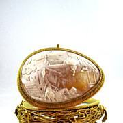 SOLD Palais Royal Cameo Nest Egg.