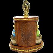 SOLD Rare Palais Royal Opaline Perfume Set