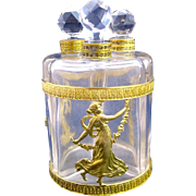 Napoleon III Dore Bronze Perfume Set