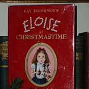SALE PENDING ON HOLD Eloise at Christmastime - 1st Printing in DJ 1958
