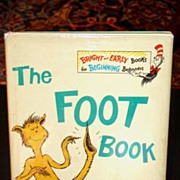 The Foot Book Seuss 1st / 1st in DJ 1968
