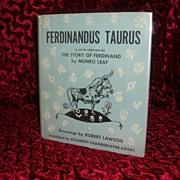 Munro Leaf - Ferdinandus Taurus - The Story Of Ferdinand the Bull  In Latin 1962 1st edition