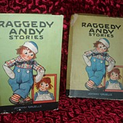 SALE PENDING Raggedy Andy Stories 1920 Johnny Gruelle in BOX!!!
