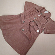 "Tagged Brownie Scout Dress for 16"" Terri Lee Doll"