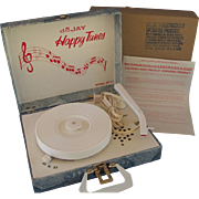 SOLD Vintage Dejay Record Player - Unused in Box (RESERVED FOR DAWN)