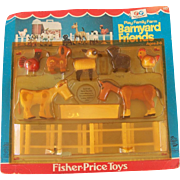Fisher Price Play Family Farm Barnyard Friends