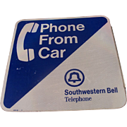 Southwestern Bell Telephone Sign