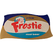 Vintage Frostie Root Beer Counter Display Sign