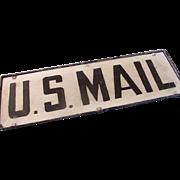 SALE U.S. Mail Sign