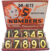 Junior Reflecting Numbers Store Display