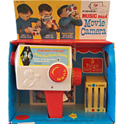 Fisher Price Music Box Movie Camera - Original Box