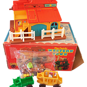 Fisher Price Western Town Sealed Accessories Box