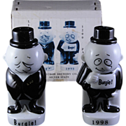 Burgie Salt and Pepper - Stroh Brewery Co 1998