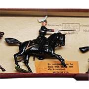 Canada Governor General's Horse Guards Vintage Britains Set 1631 Tied in ROAN Box