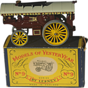 Lesney Matchbox Yesteryear Y9-1 Fowler Showman Engine