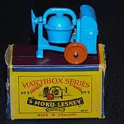 Vintage Lesney Matchbox 3A Cement Mixer