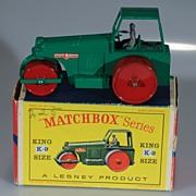 Matchbox King-Size K-9 Aveling-Barford Road Roller